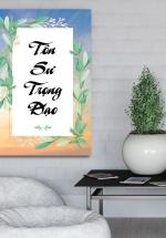Tranh Treo Tường Tôn Sư Trọng Đạo (40x60)