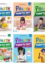 Trọn Bộ Sách PoMath - Toán Tư Duy Cho Trẻ Em 4-6 Tuổi (6 cuốn)
