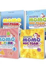 Combo 4 Cuốn Momo Học Toán Như Thế Nào? Cho Bé Từ 3 - 5 Tuổi