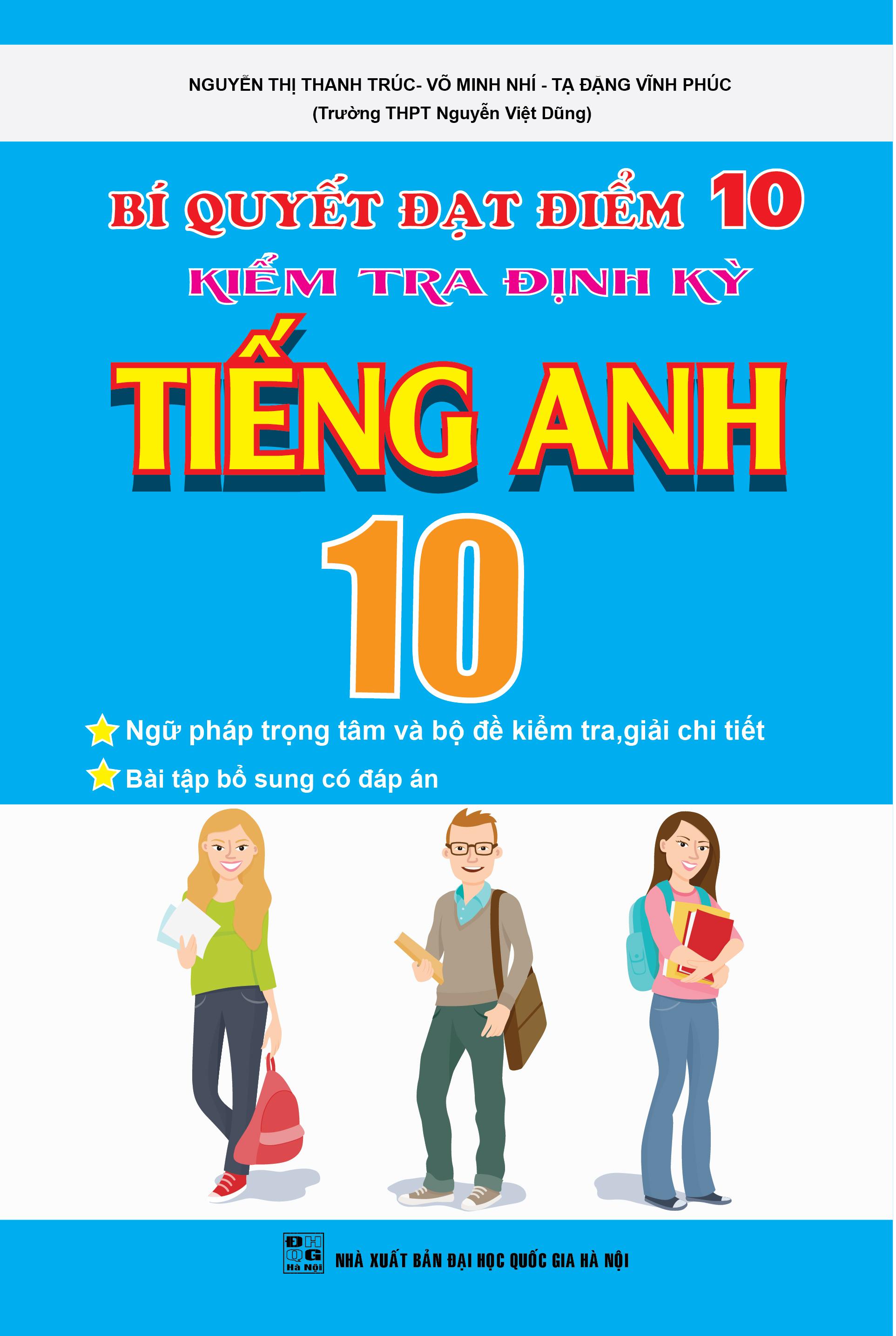 Đọc thử Bí Quyết Đạt Điểm 10 Kiểm Tra Định Kì Tiếng ...