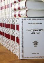 Trọn Bộ Đại Tạng Kinh Việt Nam 37 Cuốn - Bản Không Quét Củ Nâu (Bìa Trắng)