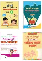 Combo Sách Tham Khảo Văn - Toán - Anh Lớp 1