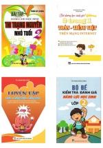 Combo Sách Tham Khảo Văn - Toán - Anh Lớp 2