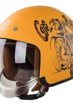 Nón Royal M139 Cafe Racer Vàng