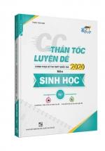 CC Thần Tốc Luyện Đề 2020 Môn Sinh Học Tập 1 - Sách Bộ Đề Thi THPT Quốc Gia 2020