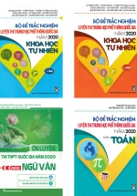 Combo Bộ Đề Luyện Thi THPT Quốc Gia 2020 Môn Toán - Văn - KHTN