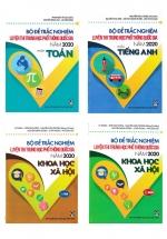 Combo Bộ Đề Luyện Thi THPT Quốc Gia 2020 Môn Toán - Anh - KHXH