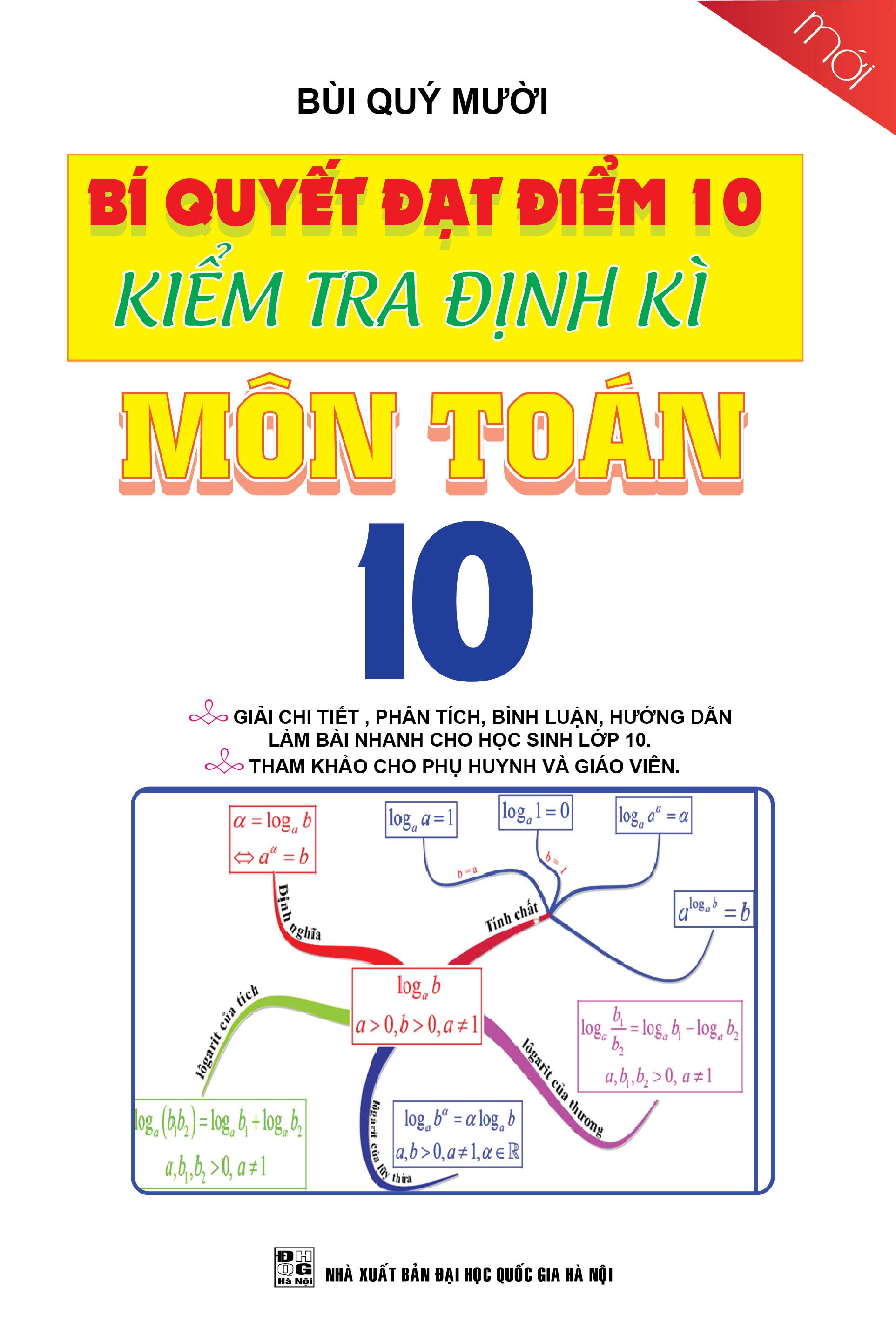 Bí Quyết Đạt Điểm 10 Kiểm Tra Định Kì Môn Toán 10
