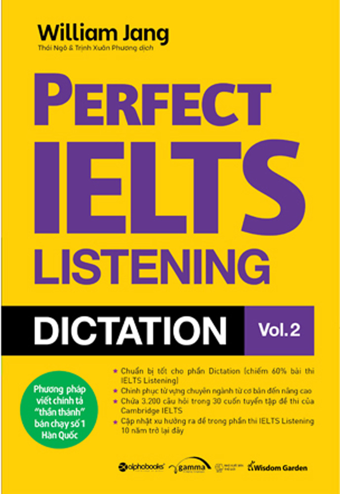 Perfect IELTS Listening Dictation Vol.2