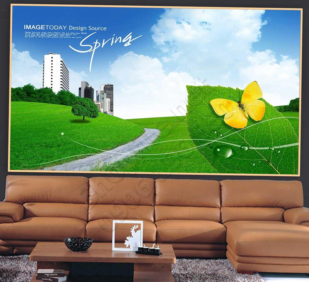 Tranh 3D Mùa Xuân - NS1436