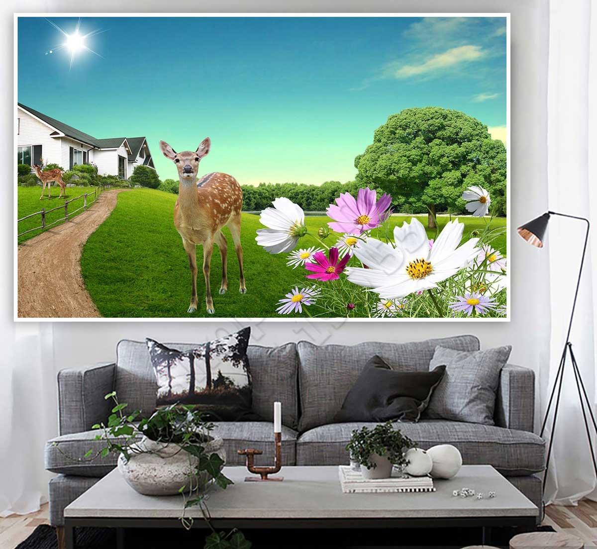 Tranh 3D Phong Cảnh Treo Tường - NS1458