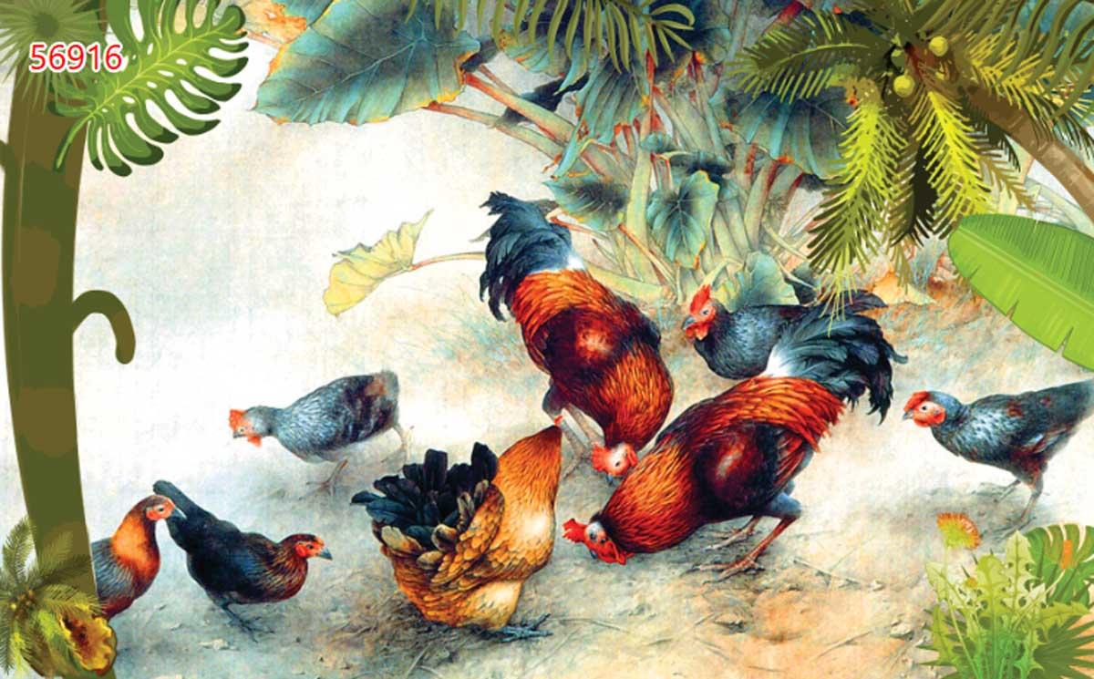 Ngủ mơ gặp 1 đàn gà con là điềm báo cát lợi