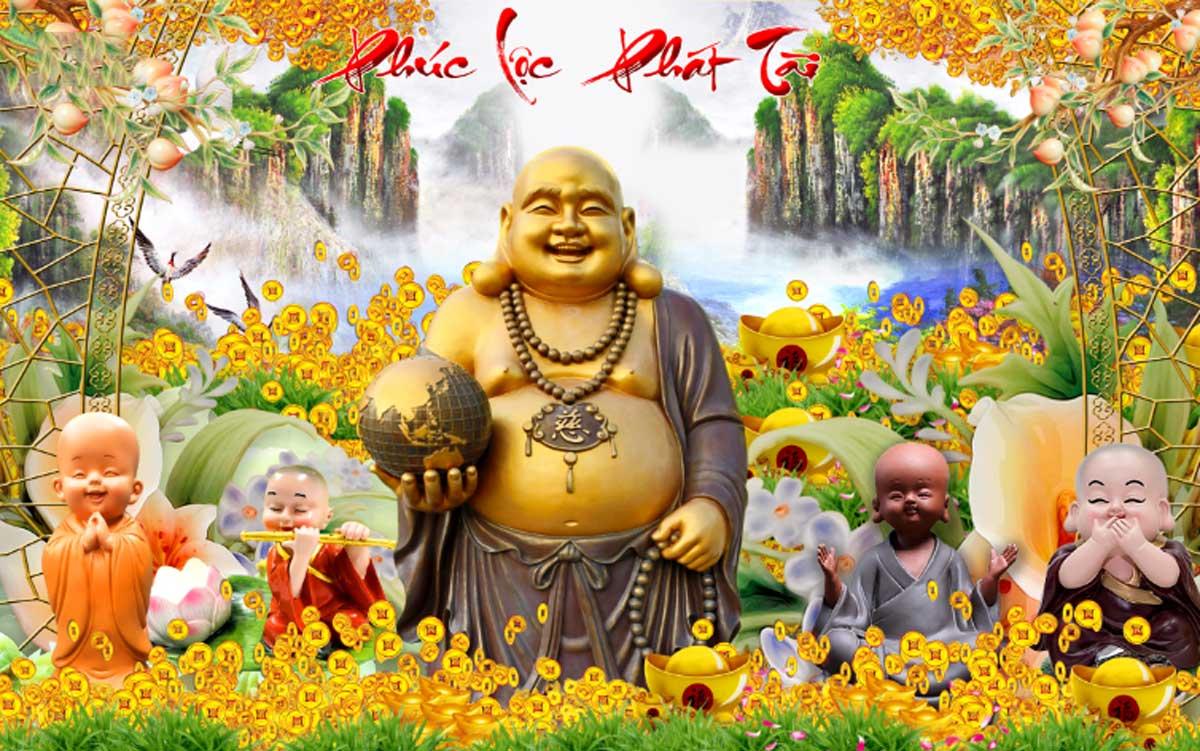 Tranh Phúc Lộc Phát Tài - TP56998