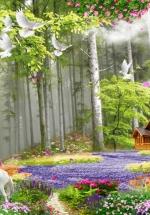 Tranh Khu Vườn - TP3091