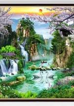 Tranh Phong Thủy Nghệ Thuật Mùa Xuân - NS2332