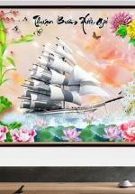 Tranh Thuận Buồm Xuôi Gió - NS253