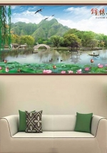 Tranh Đầm Sen Và Phong Cảnh Nghệ Thuật - NS2592