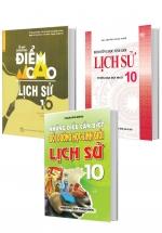 Combo Bộ Sách Bồi Dưỡng Học Sinh Giỏi Lịch Sử 10