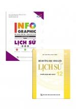 Combo Sách Bồi Dưỡng Học Sinh Giỏi Lịch Sử 12 + Infographic Ôn Luyện Kiểm Tra Đánh Giá Và Thi THPT Quốc Gia Môn Lịch Sử