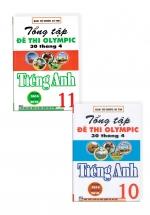 Tổng Tập Đề Thi Olympic 30 Tháng 4 Môn Tiếng Anh Lớp 10,11 (Từ Năm 2014 Đến Năm 2018)