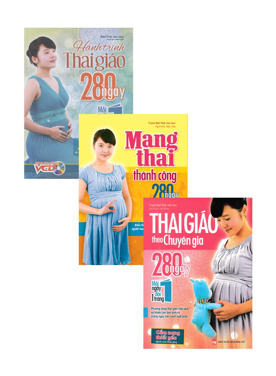 Combo Bộ Sách 280 Ngày Thai Giáo