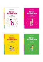 Bộ Sách Dạy Con Như Người Nhật ( 4 Cuốn )