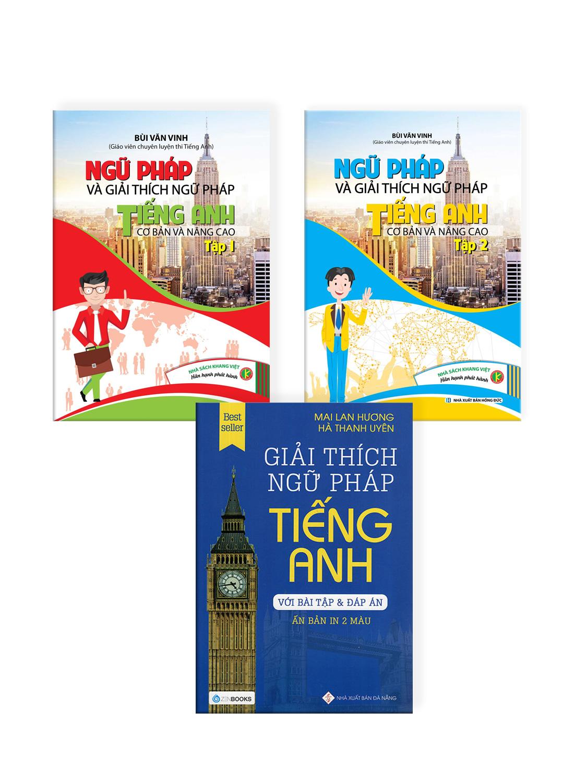 Combo Giải Thích Ngữ Pháp Tiếng Anh