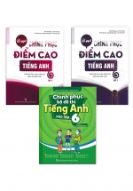 Combo Chinh Phục Điểm Cao Tiếng Anh 6