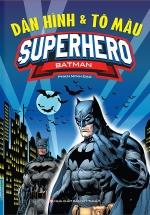Dán Hình & Tô Màu Superhero Batman