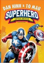 Dán Hình & Tô Màu Superhero Captain American