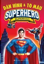 Dán Hình & Tô Màu Superhero Superman