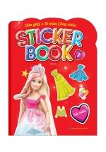 Sticker Book - Giấy Dán & Tô Màu Công Chúa 1 - Sắc Màu