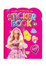 Sticker Book - Giấy Dán & Tô Màu Công Chúa 3 - Xinh Đẹp