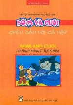 Truyện Tranh Song Ngữ Việt - Anh: Bờm Và Cuội - Chiến Đấu Với Cá Mập