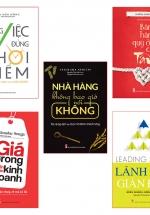 Combo Sách: Những Bài Học Vàng Trong Khởi Nghiệp