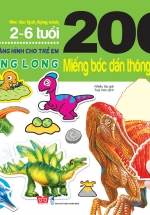 200 Miếng Bóc Dán Thông Minh - Khủng Long