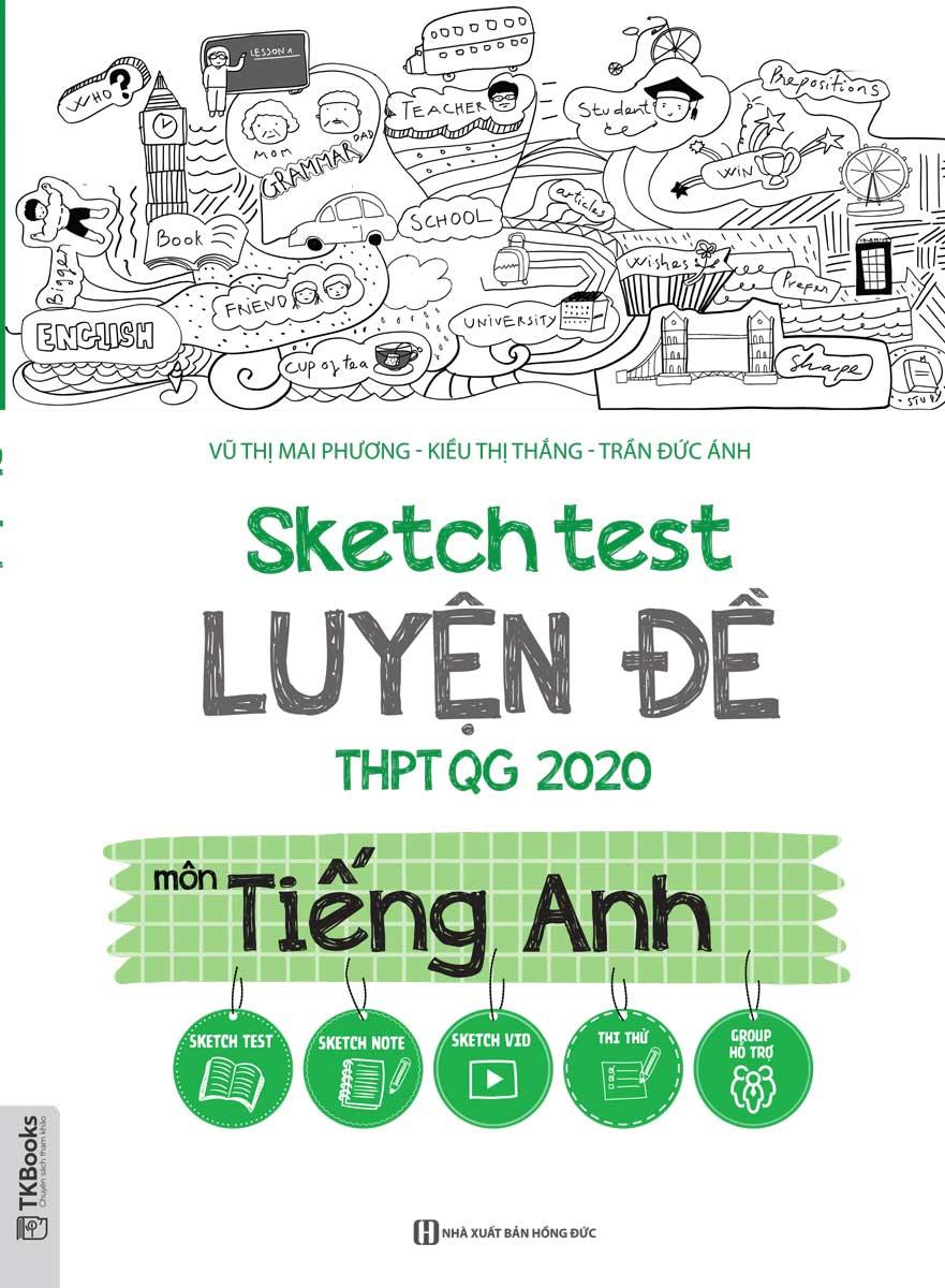 Sketch Test Luyện Đề THPTQG 2020 Môn Tiếng Anh
