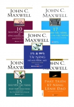 Combo Sách Hay Nhất Của John C.Maxwell Về Phát Triển Toàn Diện Bản Thân