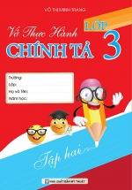 Vở Thực Hành Chính Tả Lớp 3 Tập 2