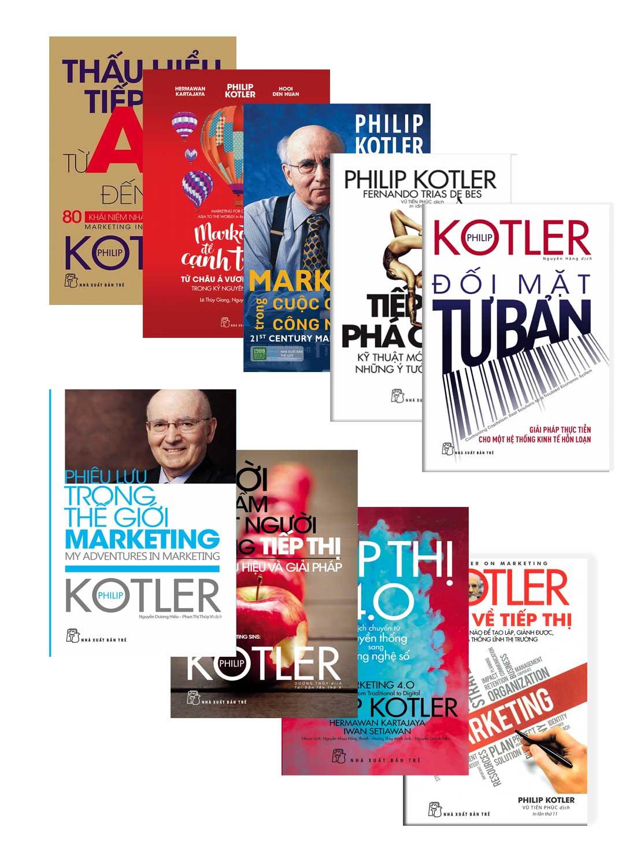 Combo Bộ Sách Philip Kotler
