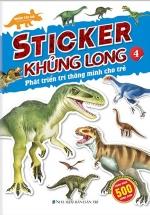 Sticker Khủng Long - Phát Triển Trí Thông Minh Cho Trẻ 4
