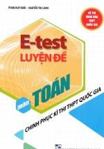 E - Test Luyện Đề Chinh Phục Kì Thi THPT Quốc Gia Môn Toán