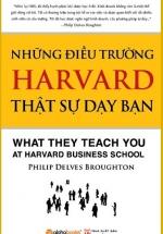 Những điều trường harvard thực sự dạy bạn