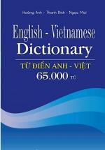 Từ Điển Anh Việt 65.000 Từ