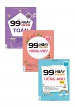 Combo 99 Ngày Em Giỏi Toán - Tiếng Việt - Anh Văn Lớp 3