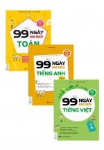 Combo 99 Ngày Em Giỏi Toán - Tiếng Việt - Anh Văn Lớp 4