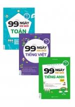 Combo 99 Ngày Em Giỏi Toán - Tiếng Việt - Anh Văn Lớp 5