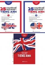 Combo 3 Cuốn 25 Chuyên Đề Ngữ Pháp Tiếng Anh Trọng Tâm + Cẩm Nang Cấu Trúc Tiếng Anh