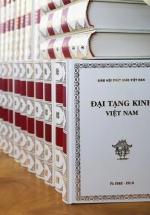 Đại Tạng Kinh Việt Nam - Bản Quét Củ Nâu (Bìa Trắng)