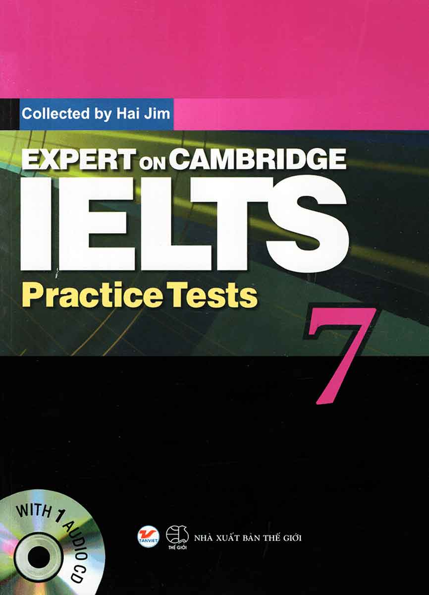 Expert On Cambridge IELTS Practice Tests 7 (Kèm CD)